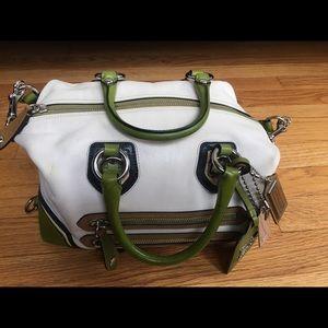 Limited Edition Coach Sabrina Spectator Handbag